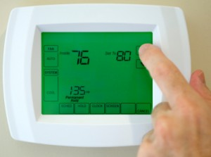 Energy-Efficient Furnace & Air Conditioner Thermometer