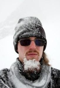 Man with Frozen Beard