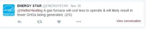 Energy Star Tweet