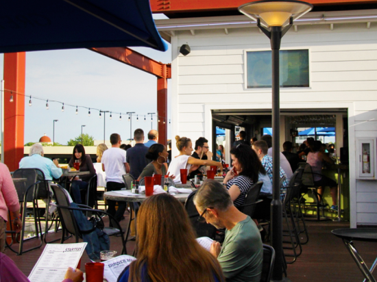 8 of the coolest patios in minneapolis welter heating for Stellas fish cafe