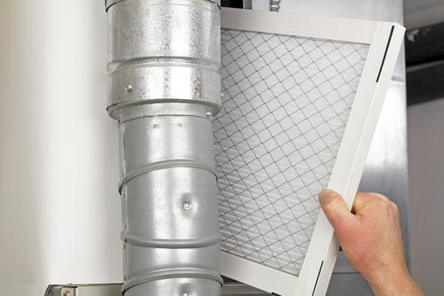 Changing an HVAC Air Filter