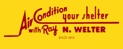 Ray N. Welter Heating and Air Conditioning Company logo
