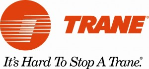 The Trane gas furnace logo