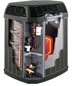 A Trane XLi air conditioner