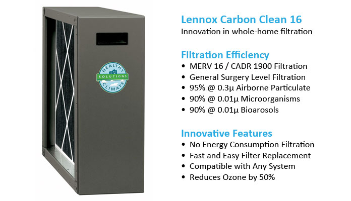 A Lennox air purification Minneapolis system