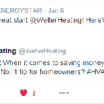 ENERGY STAR Tweet on Sealing Leaks