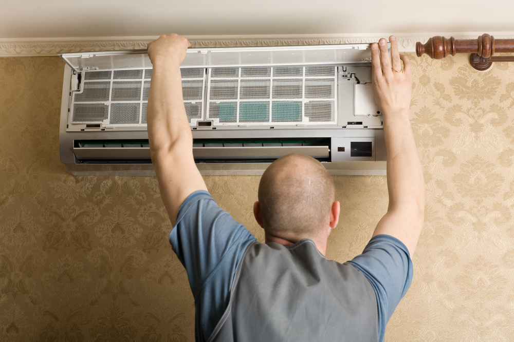 A Minneapolis air conditioning installation