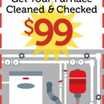 $99 Furnace Clean and Check