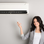 A mini-split air conditioner is an alternative to central air conditioning