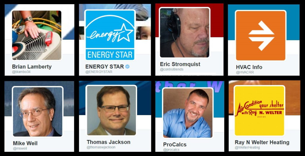 8 HVAC Experts to Follow on Twitter