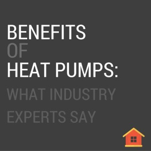 Benefits of heat pumps as a heating and cooling option.