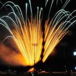 Saints Postgame Independence Day Celebration Fireworks Super Show
