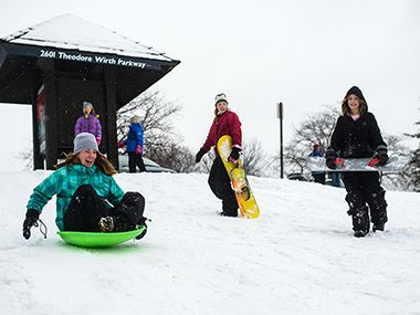 12 of the HOTtest Sledding Hills in the Twin Cities ...