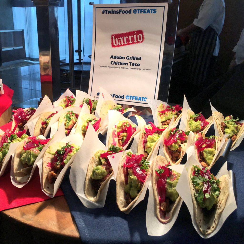 Barrio Chicken Tacos at Target Field