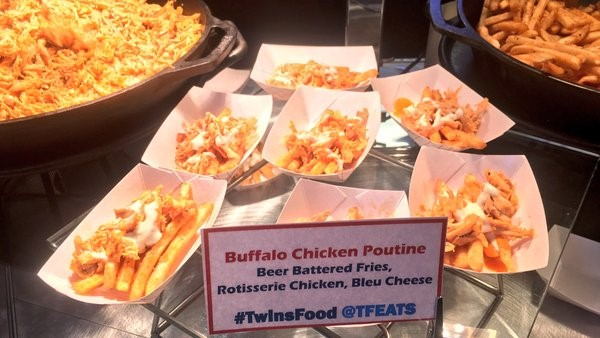 Buffalo Chicken Poutine at Target Field
