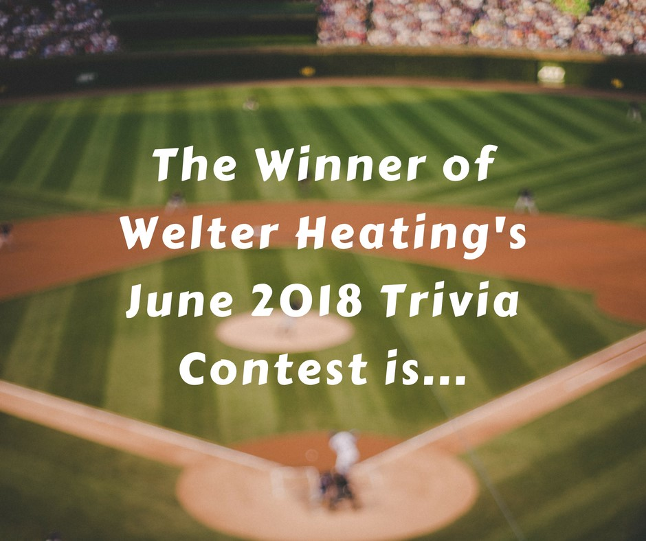 June 2018 Trivia Contest Winner Announcement