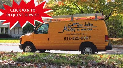 AC repair van