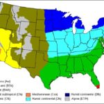 Map of Climates in the US