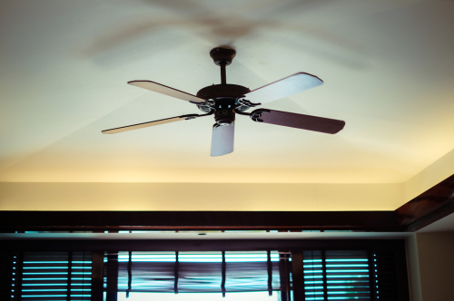Turn on your ceiling fans
