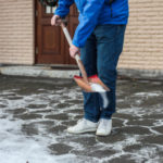 Salt Icy Sidewalks and Driveways to Avoid Injury.