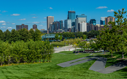 Skyline of Minneapolis, Minnesota | Welter Heating
